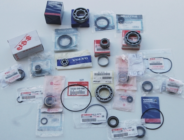 Paraoli, Cuscinetti e O-ring Johnson / Evinrude